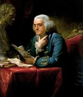 Benjamin Franklin writing