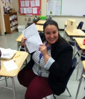 E. Fry extra excited about 1 of her scholars progress