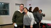 Little Tommy Sablan and Mrs. Tara Zaragoza