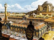 Constantinople the Byzantine Empire's Capital