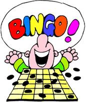 Candy Bar BINGO is TONIGHT!