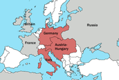 1870- France gave up territory along the German border