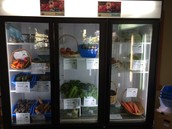 The new food refrigerators at Open Studio