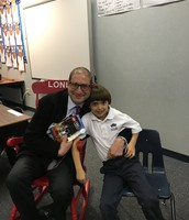 Thank you Michael Shenk for being our mystery reader!!!