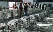 Produits métalliques vendus par Glencore