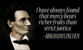 A quote from Lincoln