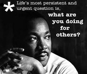 Martin Luther King, Jr Day - NO SCHOOL - 1/18
