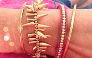 Fun, Layered Braclets