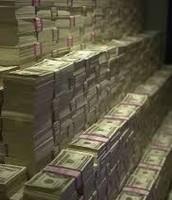 And that money money money