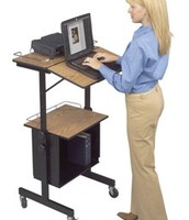 standing desk for librarian