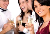 Arranging wedding feasts, parties