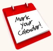 Mark Your Calendar: 2016-2017 Dates