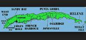 La Mapa de Roatán, Honduras