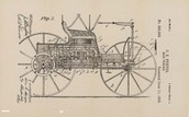 Charles Duryea's original design for the vehicle.