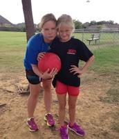 4th Grade V. Staff Kickball Game