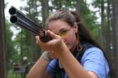Taking aim!