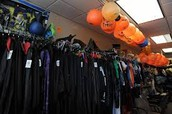 A small part of a costume sale