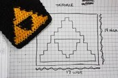 Coordinate Graph of Triforce