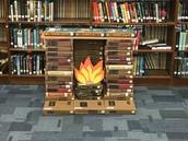 GCHS book fireplace