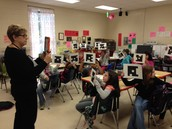 JES Uses Plickers