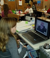 A Google Hang Out with Mr. Bellow