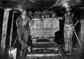 this is when people mined in a coal mine