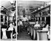 Claudette Colvin on the bus.