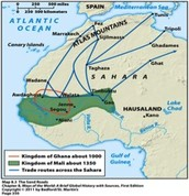 Trans-Saharan Gold/Salt Trade Routes