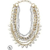 Sutton Necklace White