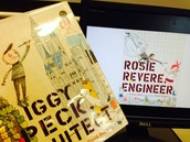 Rosie Revere, Engineer by Andrea Beaty; illustrated by David Roberts