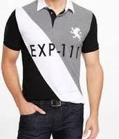 Gris / Negro / polo blanca Express