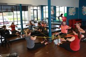 Shine Fitness' version of May Pole