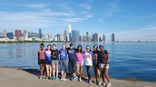 Running the Lakefront Path in Chicago!