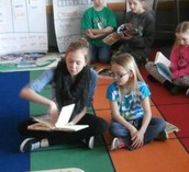 At one point we even got to read to third graders!!!!!!