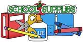 It's Second Semester! Kids Need Supplies!