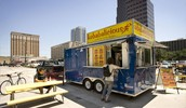 A Used Trailer Becomes a Street-Side Restaurant