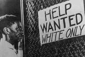 Past Discrimination in America on Blacks
