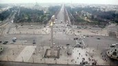 This is a view from a pod in the Roue de Paris