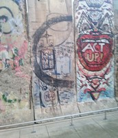 One side of the wall