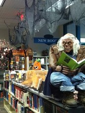 Here are a few books to get you in the Halloween spirit!