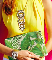 The Versatile Havana Pendant & Botanical Clutch