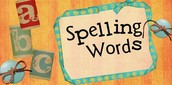 Spelling Words!