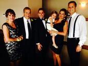 My family at Elliott's wedding