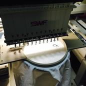 Brodats i vinil tèxtil
