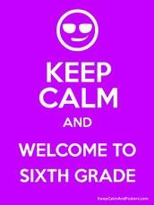 Starting 6th grade