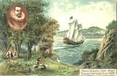 Hudson landing in North America