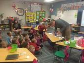 Osmo being used in Kindergarten