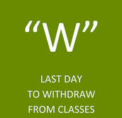 Thinking of withdrawing/dropping the course? Now is the time.