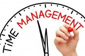 Manage time wisely