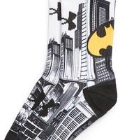 ¡De venta! Batman, blanco y oscuro de color calcetines, Está hecho de algodón y tela sintética